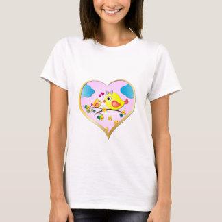 Niedliche Vögel T-Shirt