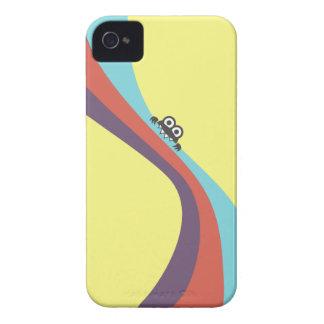 Niedliche Wanze beißt Süßigkeits-bunte Streifen iPhone 4 Cover