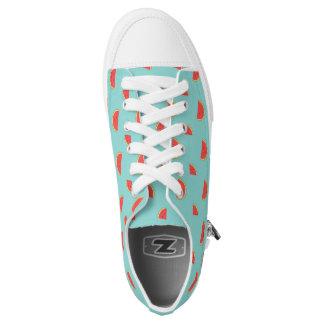 Niedliche Wassermelonesommerturnschuhe Niedrig-geschnittene Sneaker