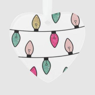 Niedliche Weihnachtslicht-Baum-Verzierung Ornament