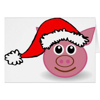 Weihnachtsschwein geschenke - Niedliche weihnachtskarten ...