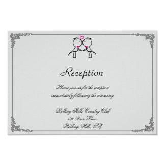 Niedliche zwei Bräutigame, die den homosexuellen 8,9 X 12,7 Cm Einladungskarte