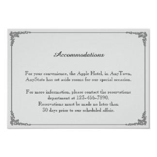 Niedliche zwei Bräutigame, die homosexuellen 8,9 X 12,7 Cm Einladungskarte