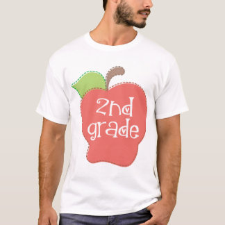 Niedlicher 2. Grad Apple T-Shirt