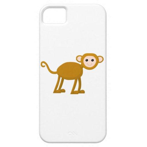 Niedlicher Affe iPhone 5 Schutzhüllen