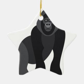 Niedlicher Affe Keramik Ornament