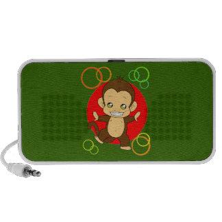 Niedlicher Affe Laptop Lautsprecher