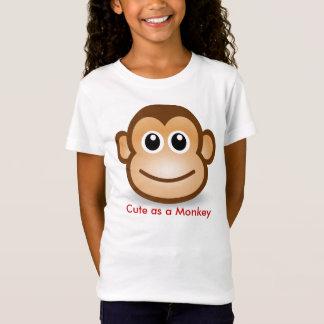 Niedlicher Affe T-Shirt