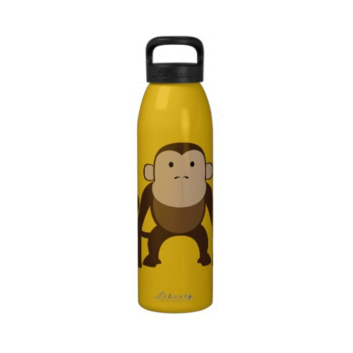 Niedlicher Affe Trinkflaschen