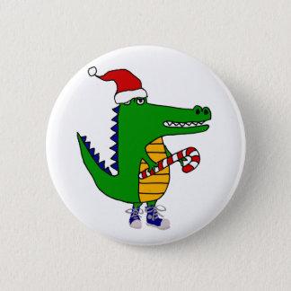 Niedlicher Alligator im Runder Button 5,1 Cm