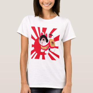Niedlicher Anime-japanische Flaggen-viel T-Shirt