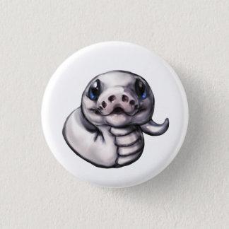 Niedlicher Baby-Ball-Pythonschlange-Knopf Runder Button 2,5 Cm