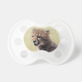 Niedlicher Baby Cheetah CUB Schnuller