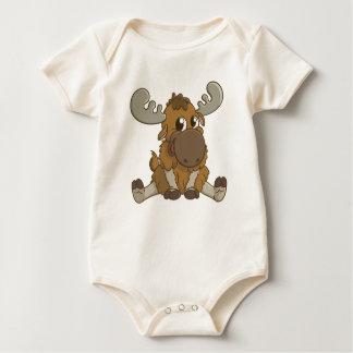 Niedlicher Baby-Elch-T - Shirt