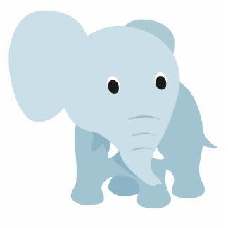 Niedlicher Baby-Elefant Freistehende Fotoskulptur