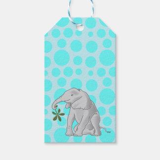 Niedlicher Baby-Elefant Geschenkanhänger