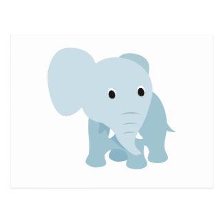 Niedlicher Baby-Elefant Postkarte