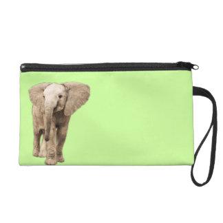 Niedlicher Baby-Elefant Wristlet