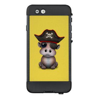 Niedlicher Baby-Flusspferd-Pirat LifeProof NÜÜD iPhone 6 Hülle