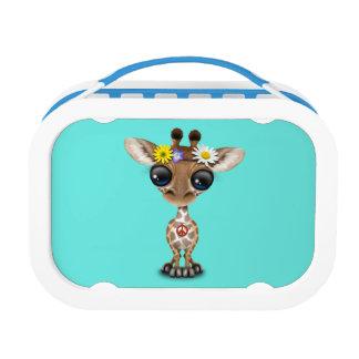 Niedlicher Baby-GiraffeHippie Brotdose