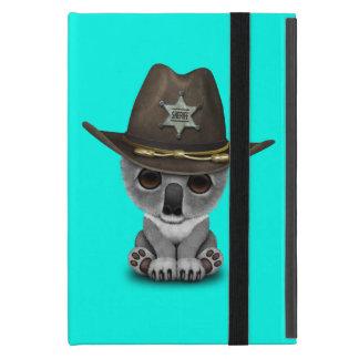 Niedlicher Baby-Koala-Bärn-Sheriff iPad Mini Schutzhüllen
