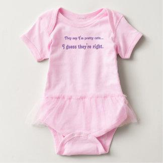 Niedlicher Baby-MädchenTutu Baby Strampler