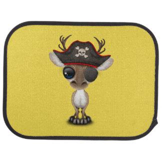 Niedlicher Baby-Ren-Pirat Autofußmatte