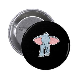 niedlicher Babyelefant Runder Button 5,7 Cm