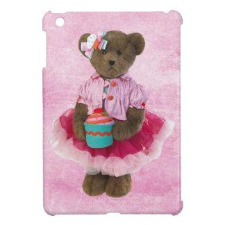Niedlicher Bär mit kleiner Kuchen iPad Minifall iPad Mini Hülle