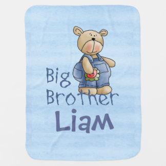 Niedlicher Bärn-großer Bruder Kinderwagendecke
