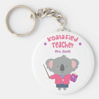 Niedlicher Bärn-Wortspiel-Spaß-Lehrer Keychain Schlüsselanhänger