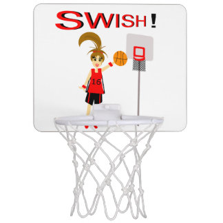 Niedlicher Basketball-Entwurf auf Basketball-Band Mini Basketball Ring