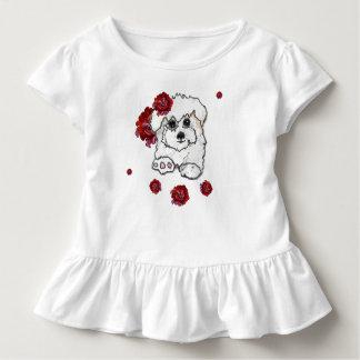 Niedlicher Baumwollkleiner kuchen Pupy Kleinkind T-shirt
