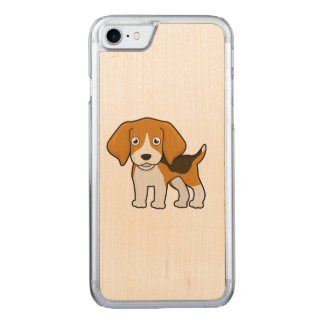 Niedlicher Beagle Carved iPhone 8/7 Hülle