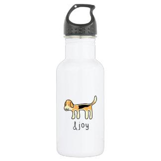 Niedlicher Beagle-Hunde&joy Gekritzel Edelstahlflasche