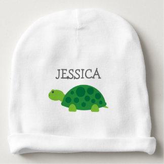 Niedlicher Beaniehut Baby der grünen Schildkröte Babymütze
