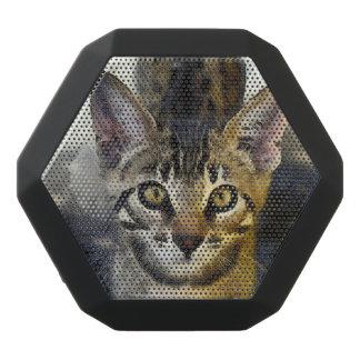 Niedlicher bengalischer Kitty Schwarze Bluetooth Lautsprecher