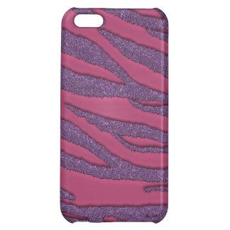 Niedlicher bezaubernder rosa und lila iPhone 5C cover