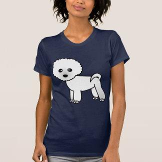 Niedlicher Bichon Frise Cartoon T-Shirt