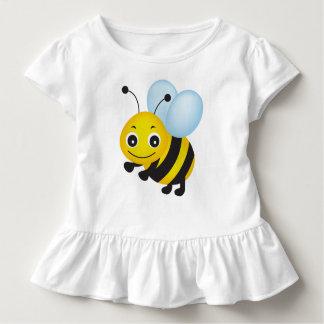 Niedlicher Bienenentwurf Kleinkinder T-shirt
