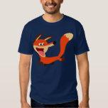 Niedlicher boshafter Cartoonfox-T - Shirt
