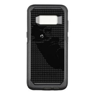 Niedlicher Boston-Terrierwelpe OtterBox Commuter Samsung Galaxy S8 Hülle