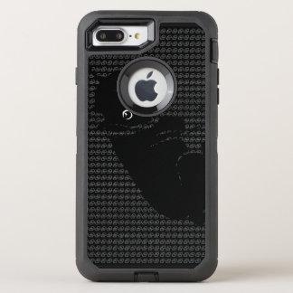 Niedlicher Boston-Terrierwelpe OtterBox Defender iPhone 8 Plus/7 Plus Hülle