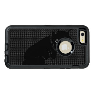 Niedlicher Boston-Terrierwelpe OtterBox iPhone 6/6s Plus Hülle