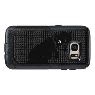 Niedlicher Boston-Terrierwelpe OtterBox Samsung Galaxy S7 Hülle