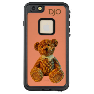 Niedlicher Brown Weidenteddy-Bär LifeProof FRÄ' iPhone 6/6s Plus Hülle