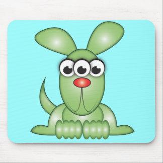Niedlicher Cartoon-alien-Hund Mousepads