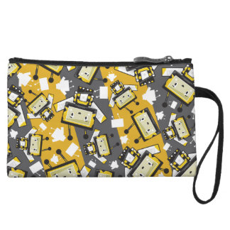 Niedlicher Cartoon Blockimals Kleine Clutch