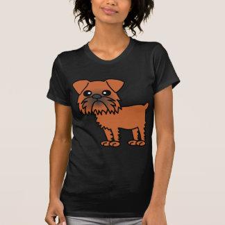 Niedlicher Cartoon Brüssels Griffon T-Shirt