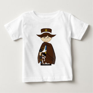 Niedlicher Cartoon-Cowboy Baby T-shirt